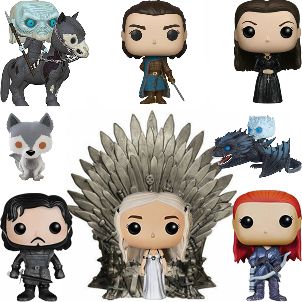 FUNKO POP Game Of Thrones Daenerys SAMWELL TARLY THE MOUNTAIN Vinyl Action Figure Original Box Collection Model Toys Gifts 2F11