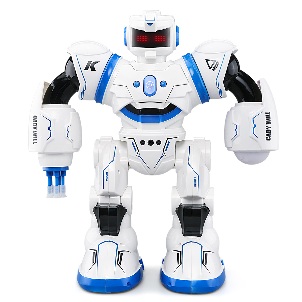 JJRC R3 CADY WILL 2.4GHz Multi Mode Sensor Control Intelligent Combat Dancing Singing  Gesture RC Robot Toys for Kids сетевой адаптер для macbook apple 29w usb c power adapter mj262z a
