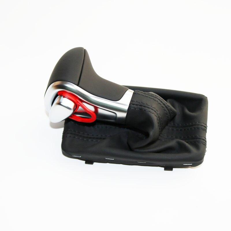 ELISHASTAR Chrome Gear Shift Knob LHD Only For A udi A3 A4 B8 A5 A6 C6