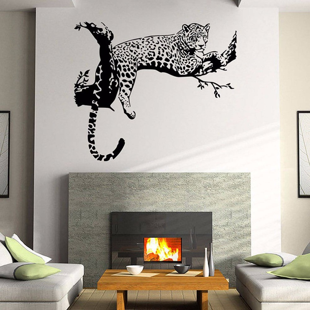 popular unique wall sticker buy cheap unique wall sticker lots 3d european american fashion unique houshold wall stickers vc9320 removable pvc animal tiger printed art wall