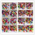 100pcs/lot Random Mixed Color multi shapes felt patch applique Felt scrapbooking sticker DIY Felt Pads D14010302(HS100)