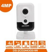 2019 Новый hik WI-FI IP Камера DS-2CD2443G0-IW 4.0MP камера видеонаблюдения наблюдения cam аварийная система веб-камера видеонаблюдения заменить DS-2CD2442FWD-IW