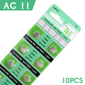 Button Battery 10 x 1.55V Button Coin Cell Watch Battery Batteries AG11 LR47 SR721SW LR721 V362