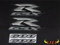 Motorcycle 3D GSXR600 GSXR750 GSXR1000 Stickers Decorated Decals Sticker Case For Suzuki GSXR600 GSXR750 GSXR1000 Logo Badge