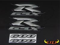 Motorcycle 3D GSXR600 GSXR750 GSXR1000 Stickers Decorated Decals Sticker Case For Suzuki GSXR600 GSXR750 GSXR1000 Logo Badge