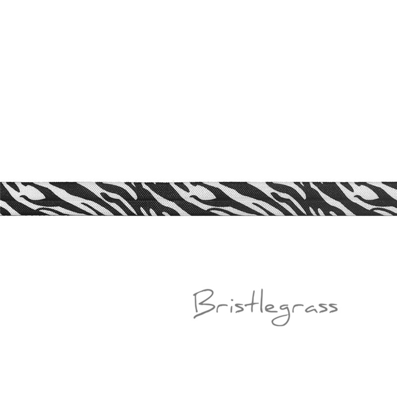 "2 yards  Unique flat white navy blue striped nylon trim 5//8/""w"