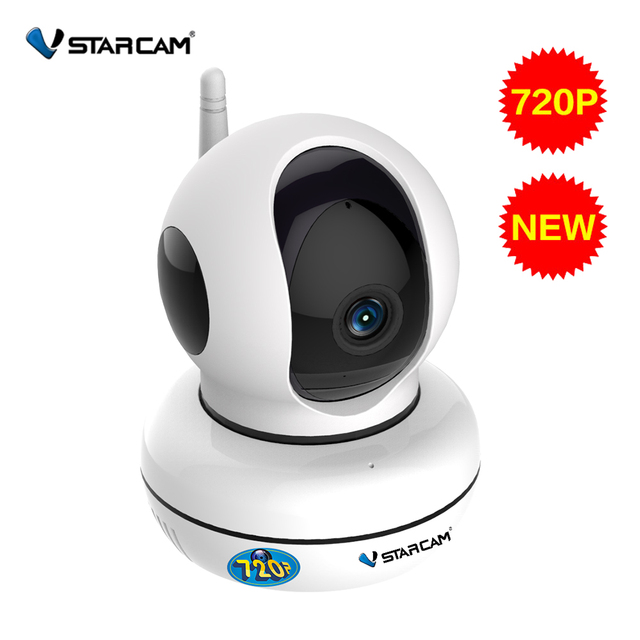 US $33 0 20% OFF|VStarcam 720P Full NEW HD Wireless IP Camera CCTV WiFi  Home Surveillance Security Camera Motion Detection EU/US/AU/UK Version-in
