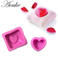 Love Pillow Shape 3D Silicone Fondant Cake Mold For Cake Decorating Jelly Chocolate Soap Modeling