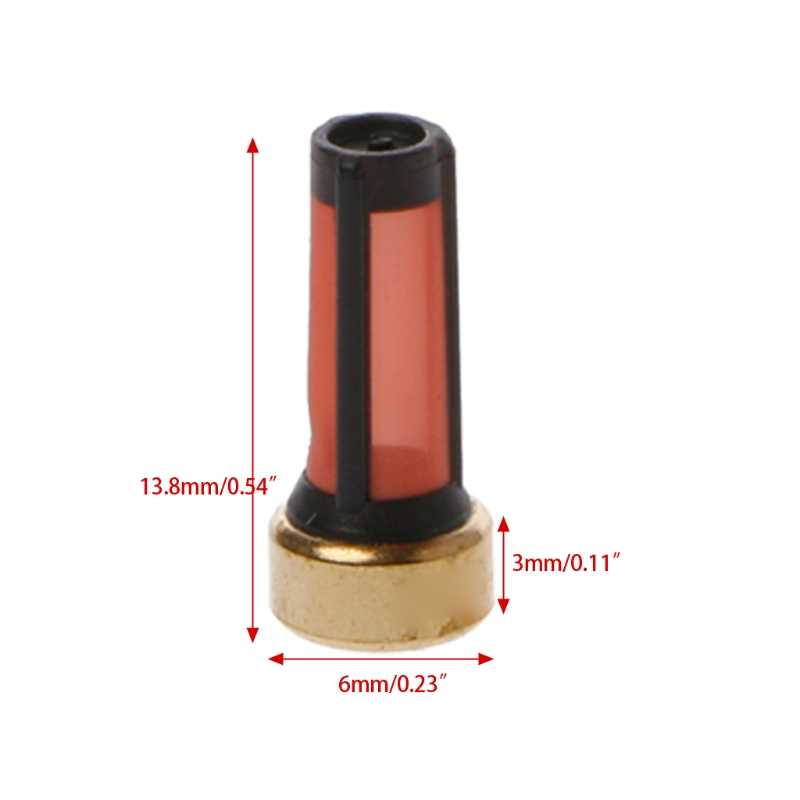 Kit de réparation d'injecteur de carburant, 20 pièces, Micro-panier filtre pour BMW GMC, kit de réparation d'injecteur