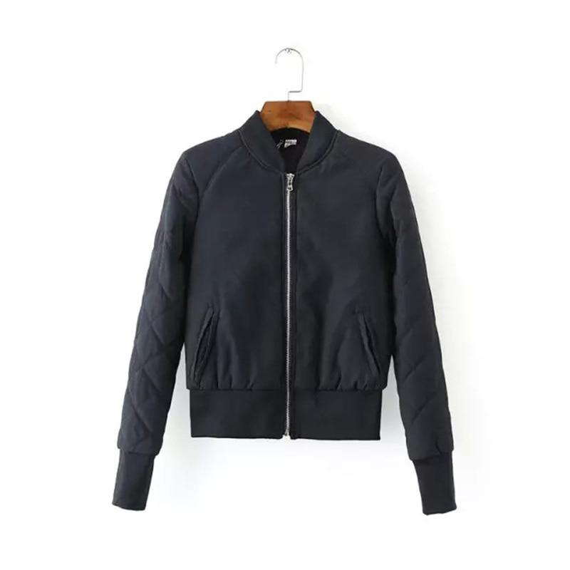 ФОТО 2016 new autumn and winter was thin in Europe and America style retro baseball uniform jacket fashion full sleeve women coat
