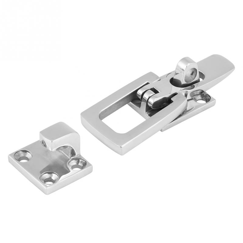 Automobiles & Motorcycles The Best 1pcs 316 Stainless Steel Marine Boat Anti-rattle Locker Hatch Latch Clamp Fastener 70mm New Professional Marine Hardware Various Styles