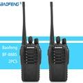 2pcs Walkie Talkie Radio BaoFeng BF-888S 16CH 5W Portable Ham CB Radio Two Way Handheld UHF Transceiver Interphone bf-888s