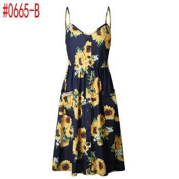 Azul Floral - 0665-B
