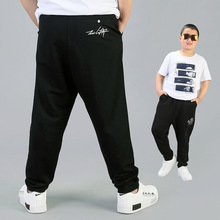 Casual Fat Boys Pants Summer Spring Plus Size Trousers for Children Teenage School Pure Black Long Pant Big Boys Clothes 12 14Y