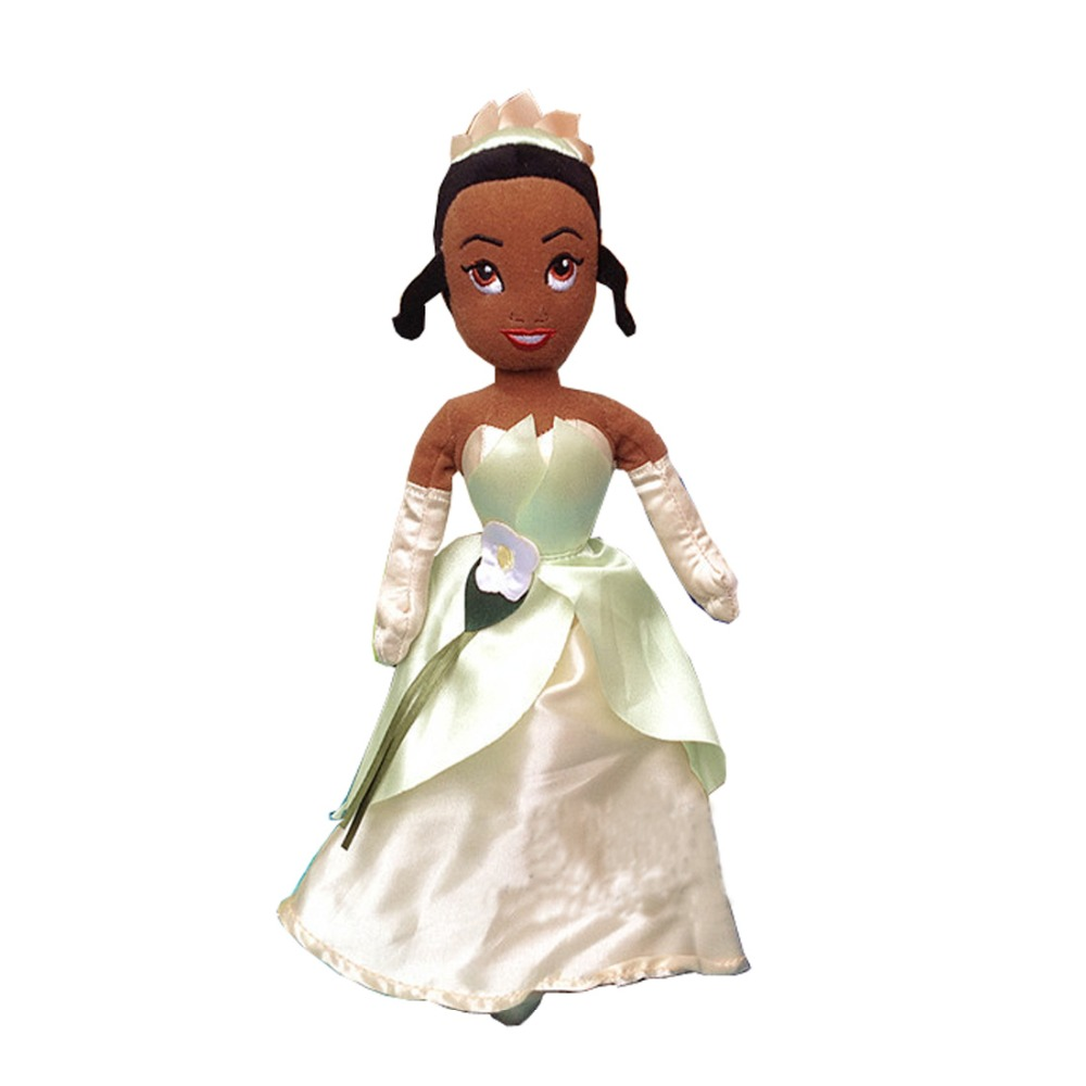The Princess and the Frog Tiana Plush Doll For Girls Kids Stuffed Toys Children Gifts 30cm