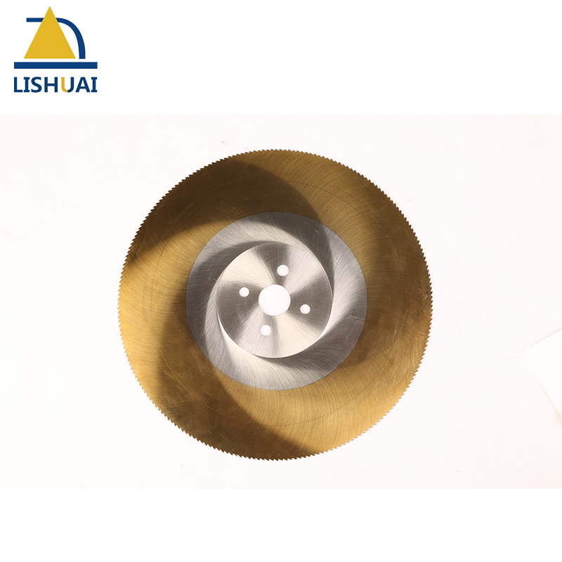 275*2.0mm Circular Golden Hss Saw Blade M42/Tin coating Size customized available 275 2 5mm well accepted m42 hss saw blade tin coating for metal pipes and stainless steel pipes