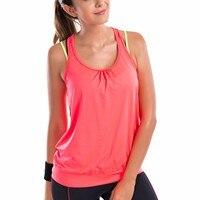 Women S Active Racerback Athletic Sports T Shirt Long Yoga Crop Tank Top