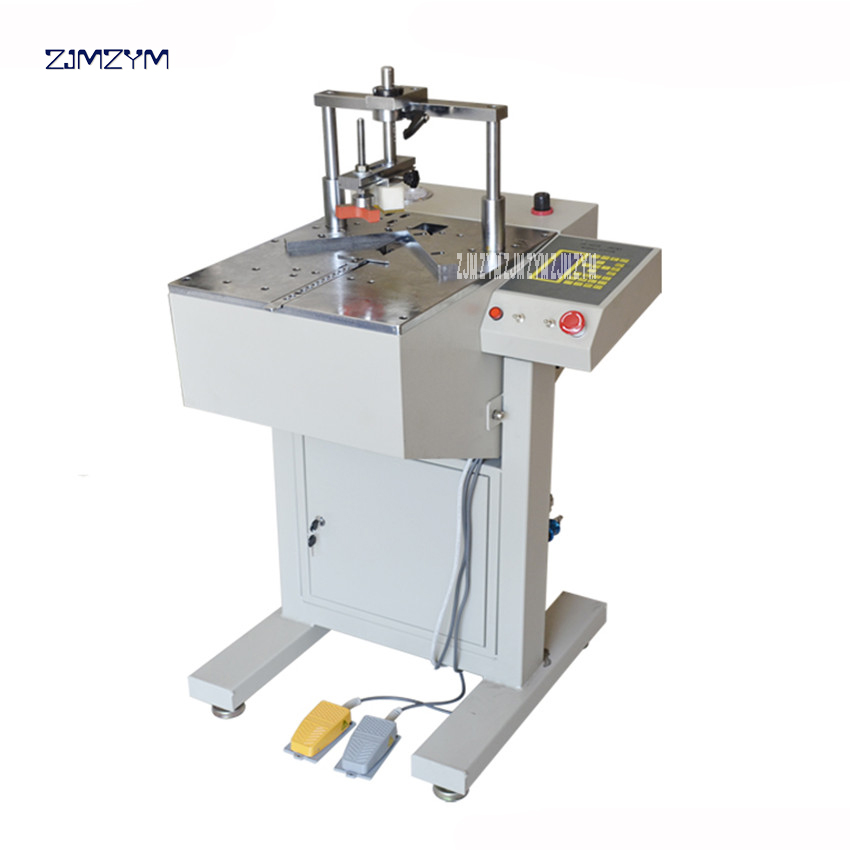 JS SM 5218 Automated PS Frame Joiner Working pressure 0.6-0.8 MPa Nail width 130 mm CNC nail machine 110V/220V 50/60 Hz