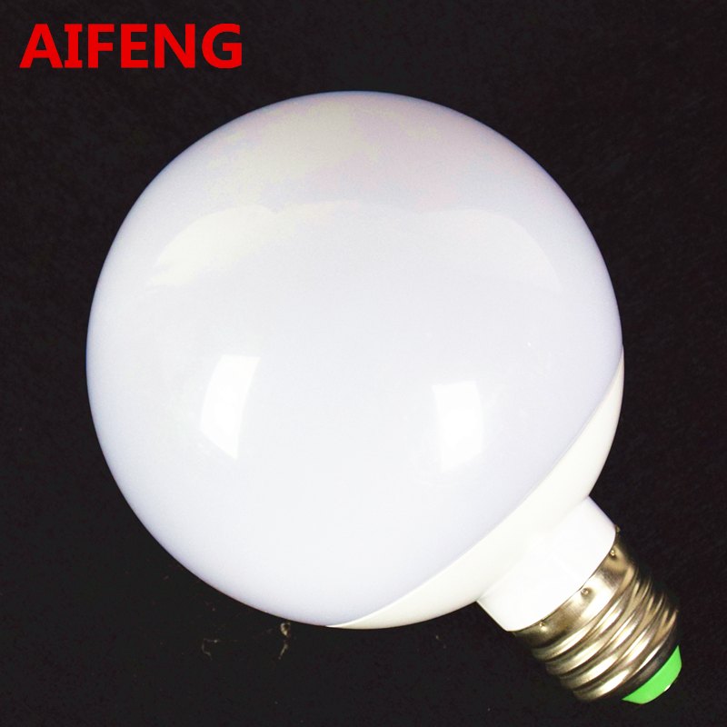 AIFENG 12W 360 Degree Dimmable LED Bulb Lamps E27 Globe Bulbs Warm Natural White Ball Lighting LED Pendant Wall Light