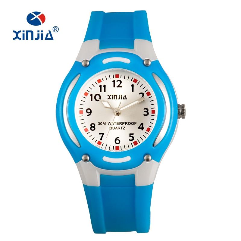 XINJIA Children Quartz Watch Lady  Casual Watches Fashion Ladies Wristwatches Jelly Kids Clock girls Students  Sports Wristwatch hoska h802s children quartz watch