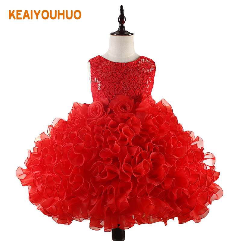 Girls Princess Flowers Ball Gown Weddings Dress Party Princess Dress Kids Clothes Girls Dresses for Christmas New Year custumes 4pcs new for ball uff bes m18mg noc80b s04g