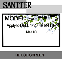 SANITER Apply to DELL 14Z 14R M411R N4110 LCD screen 14.0 LED Laptop LCD Screen