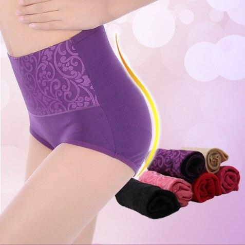 Buy PRTYWB Hot Sale Underware Women Briefs Hip Abdomen Underpants Women Sexy Cotton Panties Cute Body Shaper Knickers Plus Size