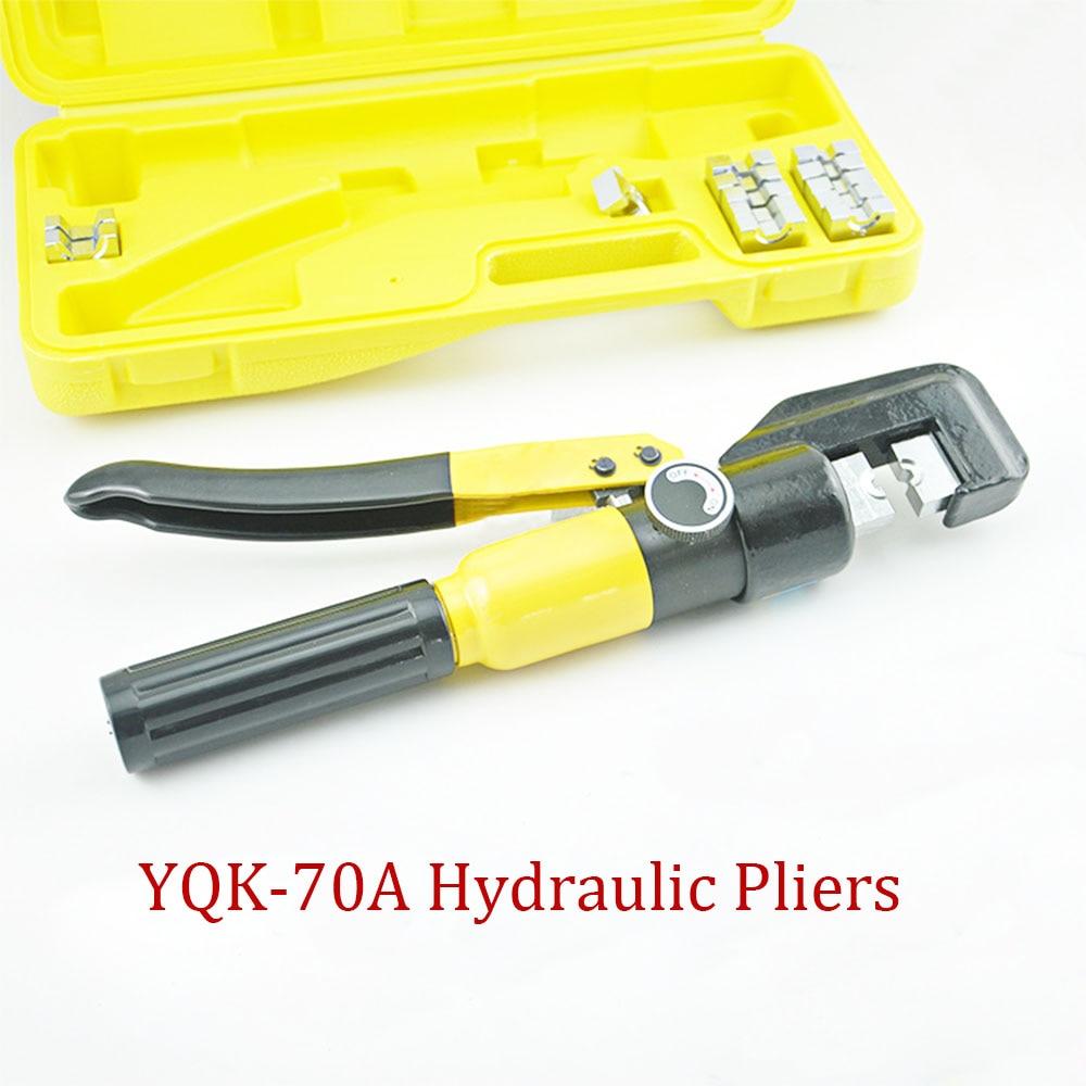 Hydraulic Crimping Tool Hydraulic Crimping Plier Hydraulic Compression Tool YQK 70 120 240 300 A Range 4 70MM2 Pressure 5 6T