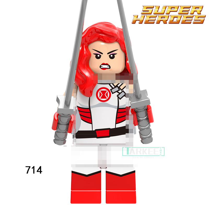Super Hero Educational Block 714 Red Widow Figures Iron Man Single Sale Building BricksToys for Children Gift Model Kids Toys hot sale 1000g dynamic amazing diy educational toys no mess indoor magic play sand children toys mars space sand