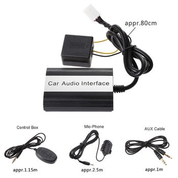 Hot New Car Bluetooth Kits MP3 AUX Adapter Interface For Toyota Lexus Scion 2003-2011