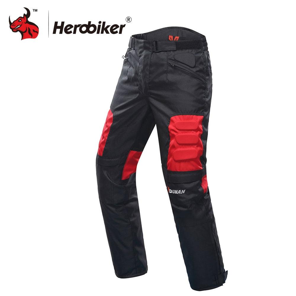 DUHAN Motorcycle տաբատ Motocross արտաճանապարհային տաբատ Motorcycle Racing Pantalon Windproof Riding Pants ծնկների պաշտպանիչ պահակ