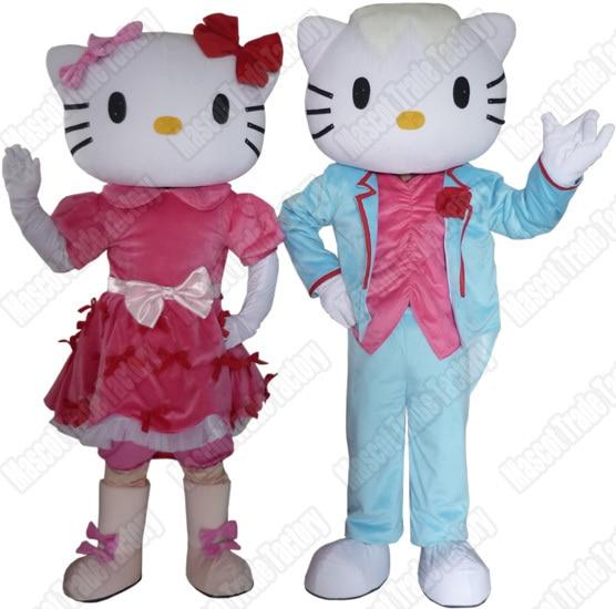 cosplay costume KT Cat cosplay costume adult mascot costume
