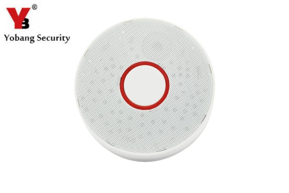 YobangSecurity Smoke Sensor Household Fire Safety Alarm Smoke Sensor Independent Smoke Detector Smoke Alarm Accessories.