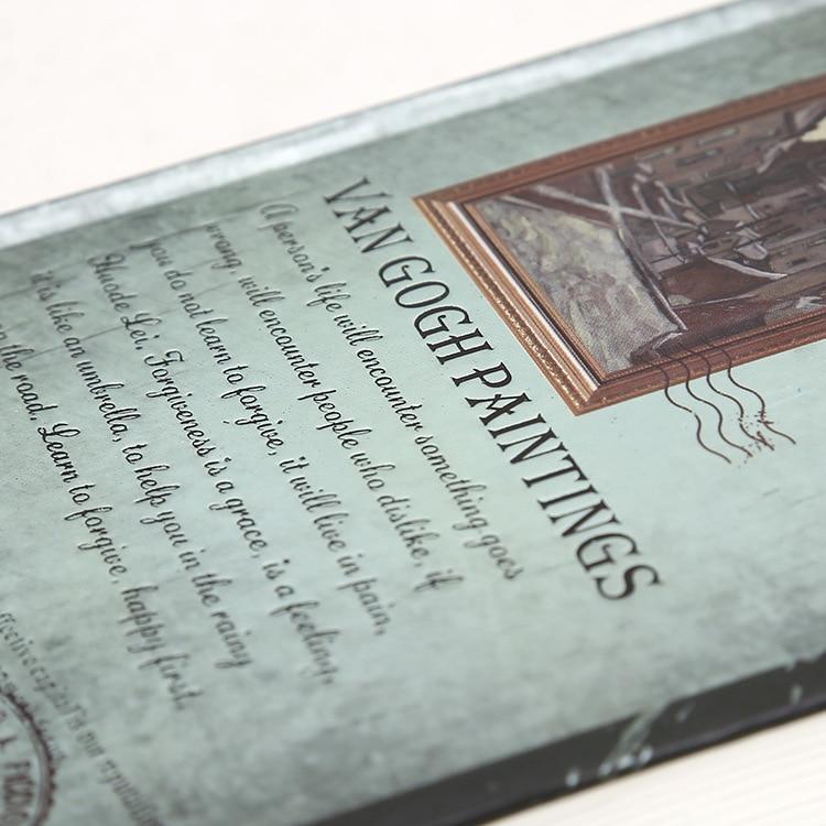 Vintage A4 A5 A6 Hardcover Van gogh Notebook 128 vel illustratie - Notitieblokken en schrijfblokken bedrukken - Foto 4