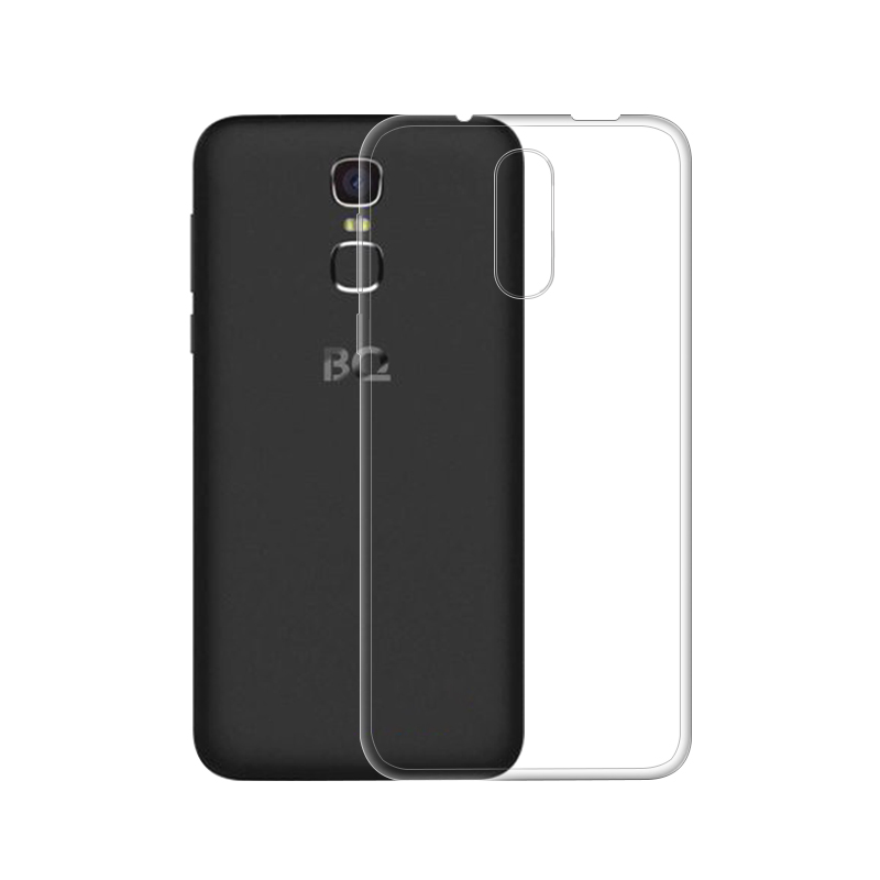 "Για BQ BQS 5520 Mercury Case 5.5 ""Clear Soft TPU Silicone Case Θήκες τηλεφώνου για BQ BQS-5520 Mercury Cover case"