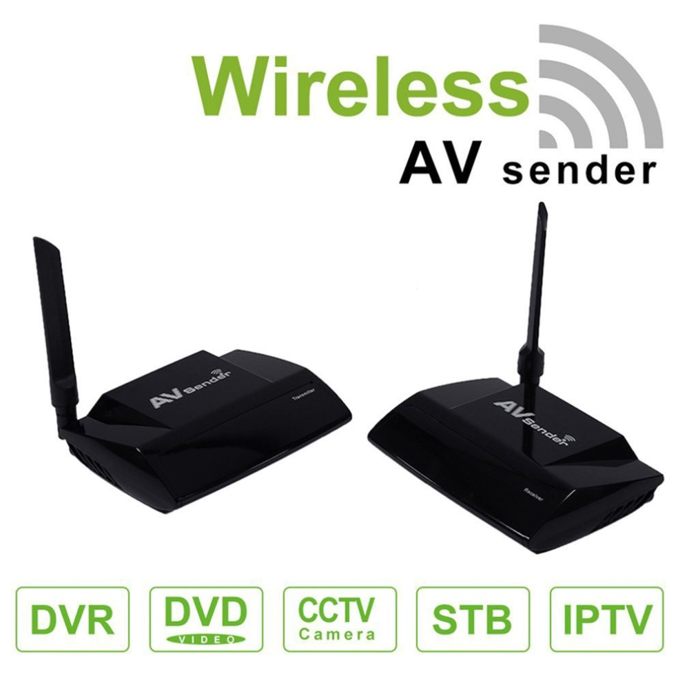 5.8G Audio Video HDMI Wireless Transmitter and Receiver 300m Transmission Distance IR Remote PAT-580 EU/UA/UK/AU