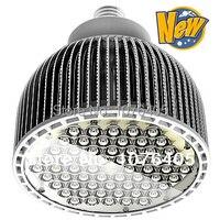 5 шт. высокой мощности светодио дный PAR64 60W теплый белый AC90 260V E40 пятно света