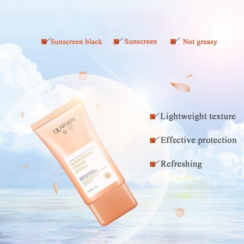 New Face Body Sunscreen Cream Isolation Of Ultraviolet Rays Waterproof Freshing Sunscreen Cream