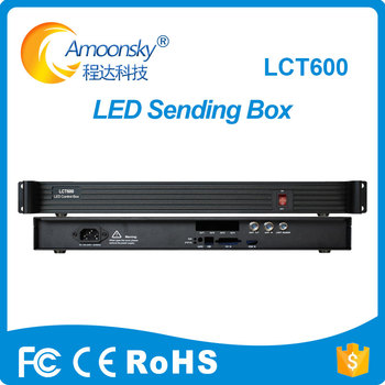 LCT600 sending box compare novastar controller mctrl600 support novastar led processor vx4 vx4s for novastar led vall image