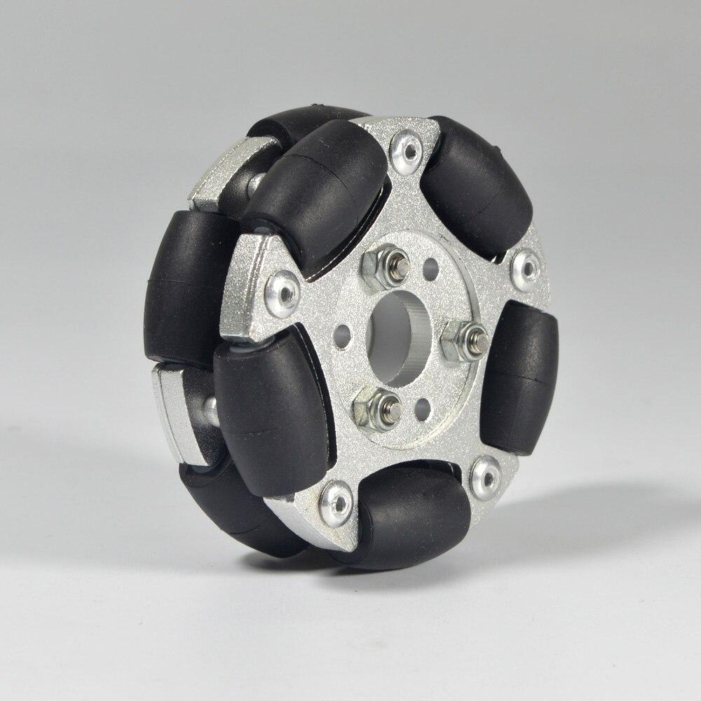 Image 2 - 60 мм двойные алюминиевые Omni колеса 14145-in Образовательное оборудование from Офисные и школьные принадлежности