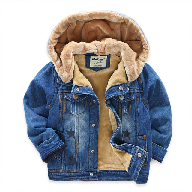 f1f090a91 New Winter Warm Jacket For 3 8 Years baby Boys Kids Thicken Boys ...