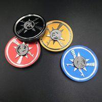 Fidget Spinner Metal Gun Design EDC Hand Tri Spinner For Autism ADHD Relief Focus Anti Stress