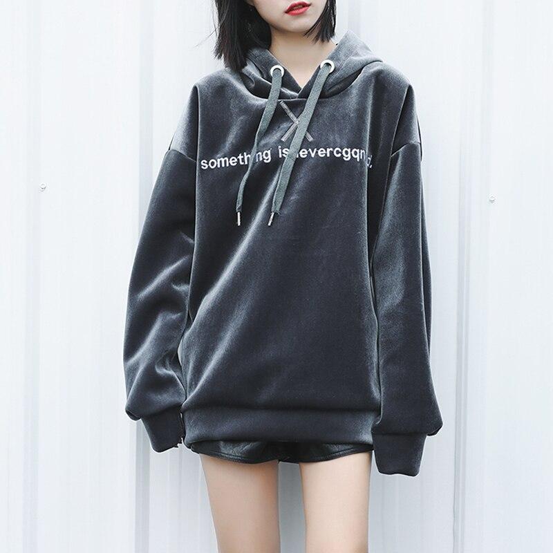 2017 Новый Женщины Длинные Sweatershirt Куртка С Капюшоном Балахон С Длинным Рукавом женская BATWING Осень Зима Женщины Теплое Пальто