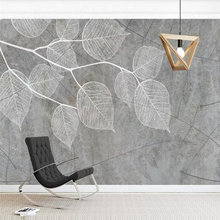 Пользовательские фото обои Простой моды гостиной ТВ фон стены