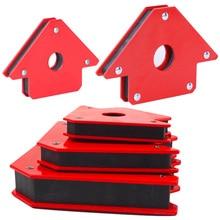 Качественный паяльный локатор сильный магнит сварочный магнитный держатель 25LB треугольник стрелка сварщик позиционер электроинструмент аксессуары