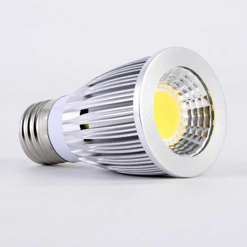 LED COB عكس الضوء الأضواء E27 E14 GU10 LED مصباح 9 واط 12 واط 15 واط 20 واط 25 واط ضوء دافئ الباردة الأبيض الجدار دعم باهتة السقف LED لمبات