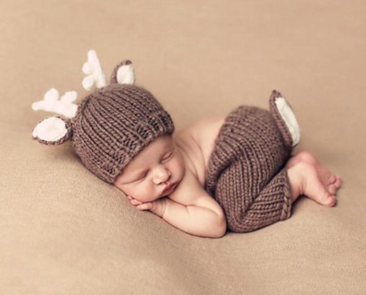 design bebê infantil trajes de malha chapéu