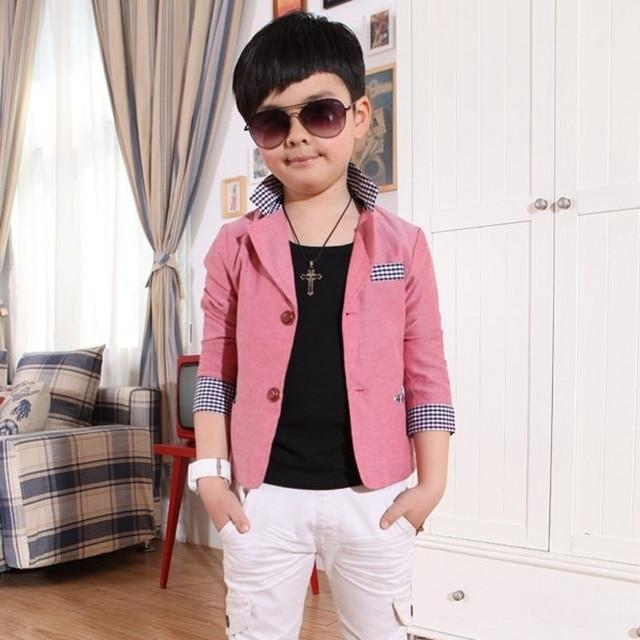2b1c5f4af Retail 1pcs NEW 2014 Children's Coat cardigan boys child Designer brands  spring autumn boys formal suits
