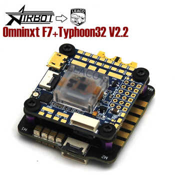 Airbot OMNINXT F7 Flight Controller & Typhoon32 V2.2 35A Blheli_32 3-6S Brushless ESC for FPV Quadcopter Drone DIY