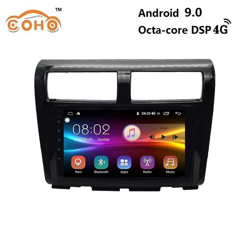 Lagi beste Android 9.0 8 core 4 + 64G auto navigatie dvd automotivo radio android voor 2012 Proton MYVI Lagi beste